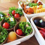 運動会のお弁当♪最近はやりのカップを使った盛り付けは寿司でもサラダでも簡単に出来る!