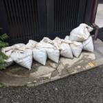 水嚢(すいのう)とは何?作り方も大公開!台風の備えにあると便利!